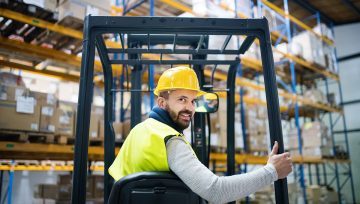 Elektrikli Forklift Gimak'tan Alınır